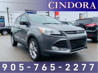 Used 2013 Ford Escape SEL, Leather, NAV, AWD for sale in Caledonia, ON