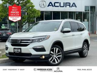 Used 2016 Honda Pilot Touring AWD for sale in Markham, ON