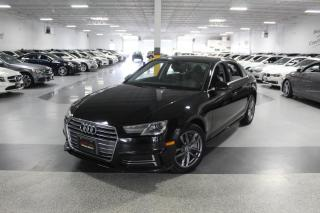 Used 2018 Audi A4 QUATTRO NO ACCIDENTS I SUNROOF I REAR CAM I PUSH START I BT for sale in Mississauga, ON