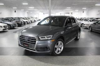 Used 2018 Audi Q5 TECHNIK I NO ACCIDENTS I NAVIGATION I PANOROOF I 360 CAM for sale in Mississauga, ON
