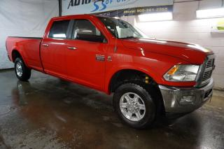 Used 2012 Dodge Ram 3500 6.7L LARAMIE TURBO DIESEL NAVI CAMERA CERTIFIED 2YR WARRANTY *1 OWNER*FREE ACCIDENT* BLUETOOTH HEAT/COLD LEATHER TOW PKG for sale in Milton, ON