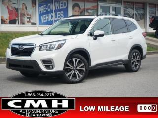 Used 2019 Subaru Forester Limited  NAV ROOF LEATH HTD-S/W 18-AL for sale in St. Catharines, ON