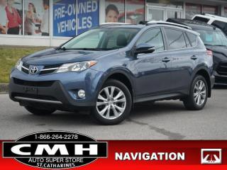 Used 2014 Toyota RAV4 Limited  NAV CAM ROOF LEATH HTD-SEATS 18-AL for sale in St. Catharines, ON