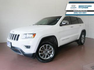 Used 2014 Jeep Grand Cherokee 4X4 | BACK UP CAM | PARK ASSIST | NAV  - $160 B/W for sale in Brantford, ON