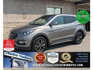 Used 2018 Hyundai Santa Fe Ultimate* AWD/Panoramic Roof/SXM/NAVIGATION for sale in Winnipeg, MB