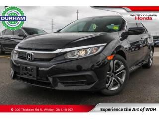 Used 2017 Honda Civic LX   CVT   Android Auto/Apple CarPlay for sale in Whitby, ON