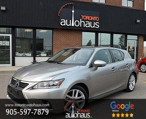 Used 2017 Lexus CT 200h PREMIUM I LEATHER I SUNROOF for sale in Concord, ON