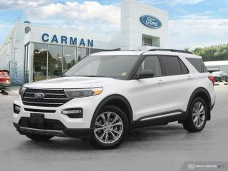New 2021 Ford Explorer XLT for sale in Carman, MB
