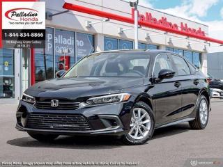 New 2022 Honda Civic Sedan EX for sale in Sudbury, ON