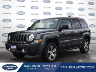 Used 2016 Jeep Patriot Sport/North - Sunroof -  Leather Seats - $101 B/W for sale in Port Elgin, ON