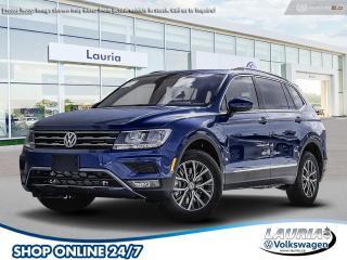 New 2021 Volkswagen Tiguan 2.0T Comfortline 4Motion AWD for sale in PORT HOPE, ON