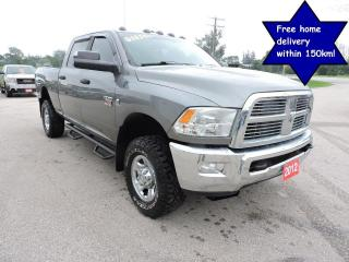 Used 2012 RAM 2500 SLT Diesel 4X4 Well oiled Seats 6 Only 194000 km for sale in Gorrie, ON