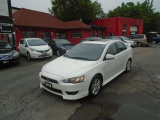 Used 2014 Mitsubishi Lancer LIMITIED / SUPER CLEAN / SUNROOF / ALLOYS/  A/C/ for sale in Scarborough, ON