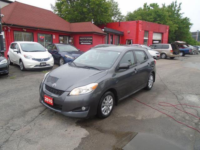 2010 Toyota Matrix ONE OWNER / CLEAN / A/C / ALLOYS/ NEW BRAKES /