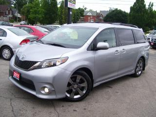 Used 2011 Toyota Sienna SE,8 PASSENGERS,BLUETOOTH,SUNROOF,CERTIFIED,FOGS for sale in Kitchener, ON