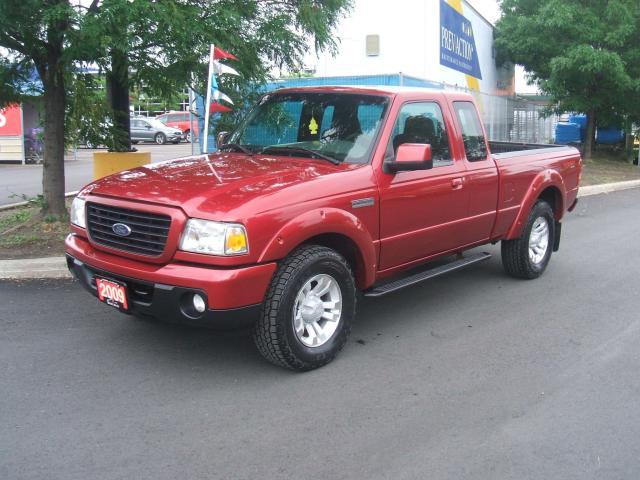 2009 Ford Ranger SPORT     4X4       5 SPEED MANUAL