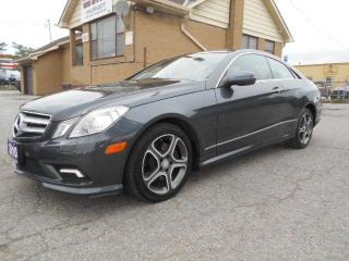 Used 2010 Mercedes-Benz E-Class E 350 COUPE Loaded Certified ONLY 129,000Km for sale in Etobicoke, ON