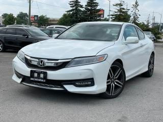 Used 2017 Honda Accord Touring Navigation Camera Roof  for sale in Bolton, ON