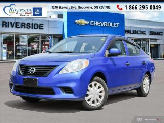 Used 2013 Nissan Versa 1.6 S for sale in Brockville, ON