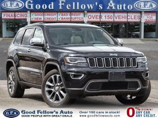 Used 2018 Jeep Grand Cherokee LIMITED, 4WD, REARVIEW CAMERA, LEATHER SEATS, NAVI for sale in Toronto, ON