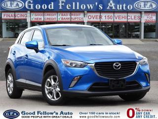 Used 2016 Mazda CX-3 GS SKYACTIV, BACKUP CAMERA, LEATHER SEATS, SUNROOF for sale in Toronto, ON