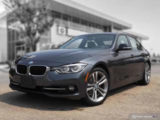 Used 2017 BMW 3 Series 330i xDrive Enhanced! Sport Line! CarPlay! for sale in Winnipeg, MB
