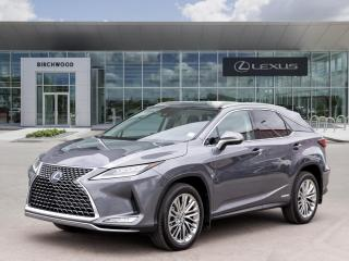 New 2021 Lexus RX 450h EXECUTIVE for sale in Winnipeg, MB