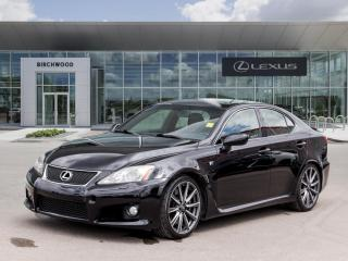 Used 2010 Lexus ISF Loaded Rare V8! Ultra Low Mileage for sale in Winnipeg, MB