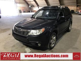 Used 2009 Subaru Forester 4D Utility AWD for sale in Calgary, AB