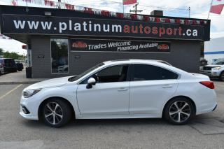 Used 2019 Subaru Legacy 2.5i Limited w/EyeSight Package MINT CONDITION!! LOW KM!! FULLY LOADED - LEATHER, SUNROOF, BACKUP CAM, APPLE CARPLAY AND MORE!!! for sale in Saskatoon, SK