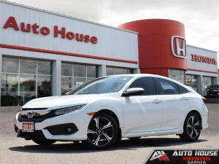 Used 2018 Honda Civic Sedan TOURING w/NAVI for sale in Sarnia, ON