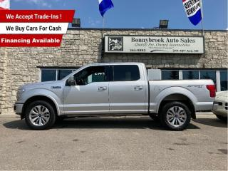 Used 2019 Ford F-150 LARIAT4X4/leather/Car starter/Navigation/Bluetooth for sale in Calgary, AB