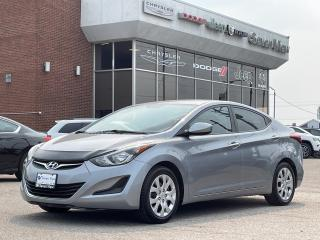Used 2016 Hyundai Elantra L 6 SPEED/REAR CAMERA/ONLY 51,000 KM'S for sale in Concord, ON
