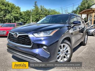 Used 2020 Toyota Highlander Limited 8 PASS  LEATHER  JBL SOUND  PANO ROOF  HEA for sale in Ottawa, ON