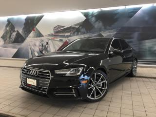 Used 2017 Audi A4 2.0T Progressiv + Nav | Rear Cam | Manual for sale in Whitby, ON