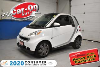 Used 2012 Smart fortwo AMAZING FUEL ECONOMY | LEATHER SEATS | LOW KMS for sale in Ottawa, ON