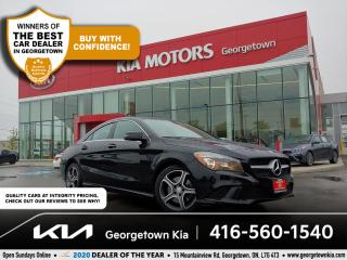 Used 2015 Mercedes-Benz CLA-Class CLA 250 4MATIC | LTHR | NAV | MOONROOF | BU CAM | for sale in Georgetown, ON
