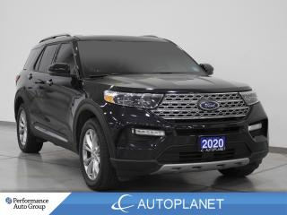 Used 2020 Ford Explorer Limited AWD, 6-Seater,  Navi, 360 Cam Pano Roof! for sale in Clarington, ON