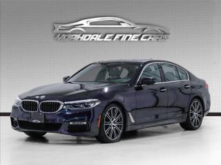 Used 2017 BMW 5 Series 540i xDrive M Sport, Navigation, Camera, Enhanced Pkg for sale in Concord, ON