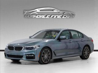 Used 2017 BMW 5 Series 530i xDrive M Sport, Navigation, Camera, Roof, Loaded for sale in Concord, ON