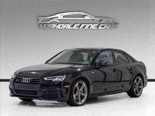Used 2018 Audi A4 2.0 TFSI quattro Progressiv S Line, Navigation, Camera, Roof for sale in Concord, ON