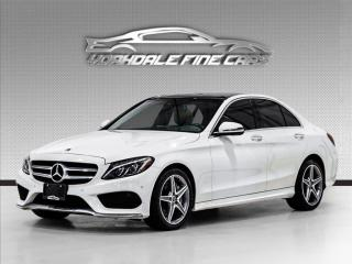 Used 2018 Mercedes-Benz C-Class C 300 4MATIC AMG Pkg, 360 Camera, Navi, Panoramic Roof for sale in Concord, ON
