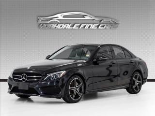 Used 2017 Mercedes-Benz C-Class C300 4MATIC AMG Pkg, Night Pkg, Navi, Roof, Loaded for sale in Concord, ON