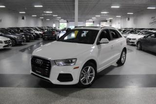Used 2017 Audi Q3 QUATTRO NO ACCIDENTS I PANOROOF I LEATHER I HEATED SEAT I BT for sale in Mississauga, ON