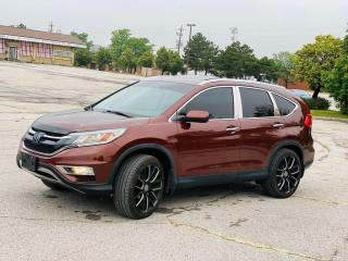Used 2015 Honda CR-V AWD 5dr Touring for sale in Brampton, ON