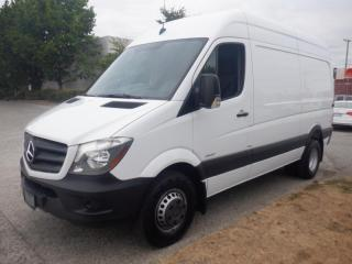 Used 2016 Mercedes-Benz Sprinter 3500 High Roof  144-inch Wheelbase Cargo Van Dually Diesel for sale in Burnaby, BC