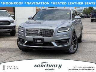 Used 2020 Lincoln Nautilus Reserve AWD for sale in Winnipeg, MB