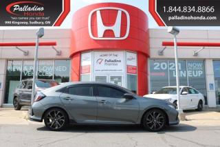 Used 2017 Honda Civic Hatchback Sport - NEW REAR PADS AND ROTORS - for sale in Sudbury, ON