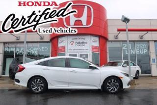 Used 2019 Honda Civic Sedan EX - HONDA CERTIFIED - RATES STARTING @ 3.69% - for sale in Sudbury, ON