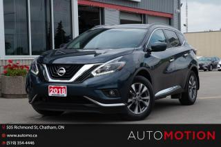Used 2018 Nissan Murano for sale in Chatham, ON